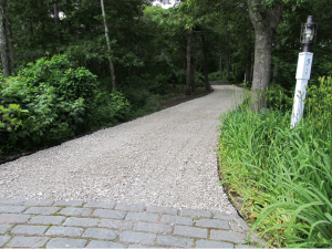 Barnstable mashpee sandwich stone driveways falmouth for Cape cod stone and gravel